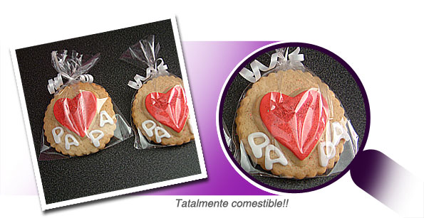 Cookies Galletas decoradas Día del Padre
