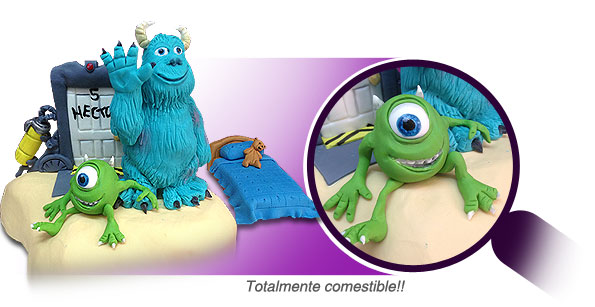 Figura de azuca - Monsters Inc.